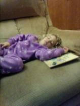sleeping Naomi